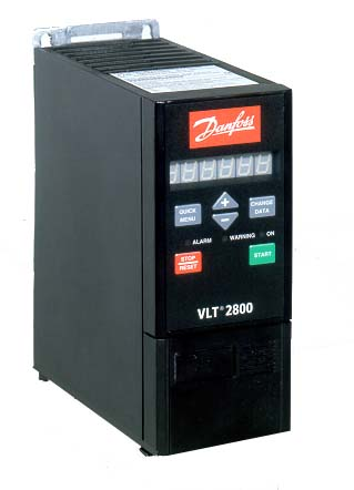Danfoss Vlt 2855 3 5 5kw 12amps Ip20 195n1087