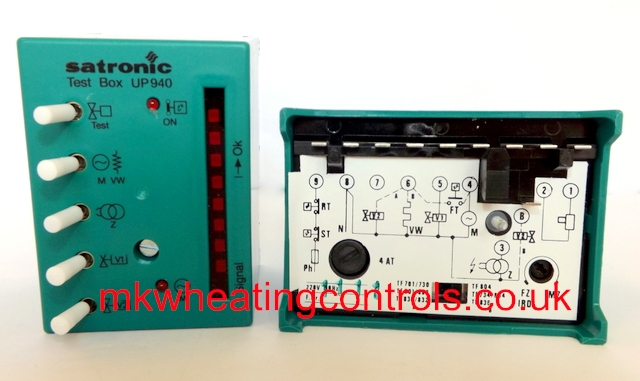 Satronic Honeywell Test Box UP940 C21243E