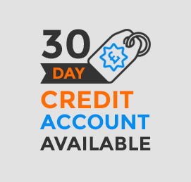 30 day credit account available